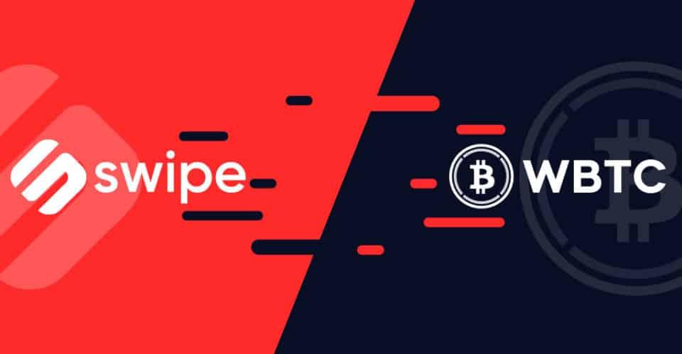 Swipe Partnered with WBTC Network Enabling WBTC for DeFi
