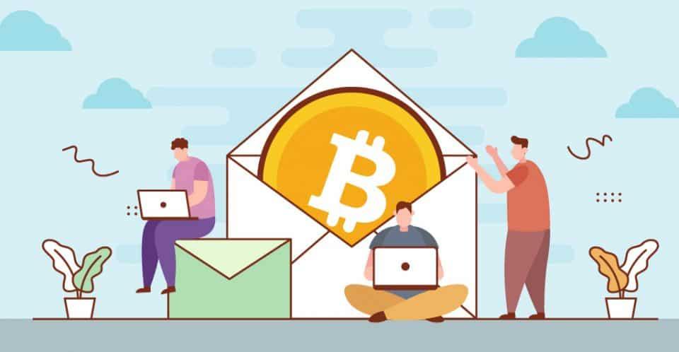 Send Bitcoin Via Email