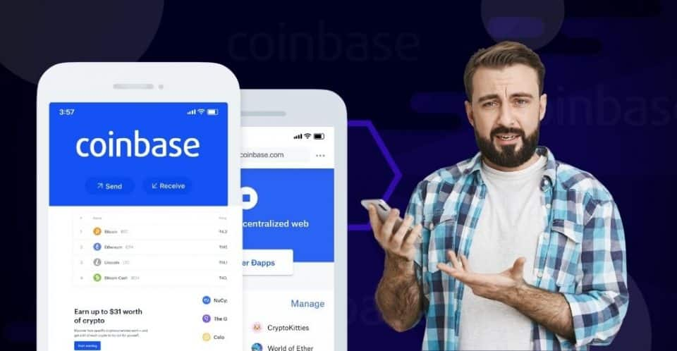 Overview Coinbase was launched in 2012 by CEO Brian Armstrong in San Francisco, California. It is an exchange broker that offers its services on buying and selling cryptocurrencies. For beginners looking to purchase and trade cryptos, Coinbase is the best exchange. It also helps financial institutions store cryptocurrencies by providing custodial services and facilitates growing businesses by offering a cryptocurrency platform. Its cryptocurrency USD coin is linked to the US dollar. Features Coinbase offers trusted cryptocurrencies accepted by all types of investors for access into the cryptocurrency market. Using this feature, an investor can purchase Bitcoin, Litecoin, Bitcoin Cash, and others. Coinbase possesses an easy-to-use interface which makes it an exceptional tool for beginners; its intuitive interface and design make it easy for users to navigate the tools effortlessly. Coinbase provides a variety of payment options to aid investors in using fiat currency to buy cryptocurrency. Some options include debit or credit cards, Paypal, bank transfer, and SEPA transfers for European citizens. Coinbase offers a secure and safe online exchange. Moreover, it provides safe web wallets that investors can use. Further, it keeps 99% of its assets in offline cold storage that hackers cannot access. How does Coinbase work? Here is a step-by-step guide on how coinbase operates. The first step is to open an account on coinbase's website. After providing the full name and email address, the user receives an email with a verification link for confirmation. The second step is to provide a mobile number, where Coinbase sends an SMS message containing a unique code when verified proves the user is the rightful owner. The third step is to set up a preferred payment option by the user. Some of the payment options are a bank account, debit card, and credit card. Moreover, the user will also be asked to enter their billing address linked to the preferred payment method. The fourth s
